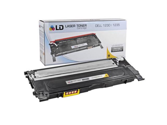 LD © Compatible Replacement for Dell 330-3013 Yellow Laser Toner Cartridge for use in Dell Color Laser 1230c, 1235c, and 1235cn Printers