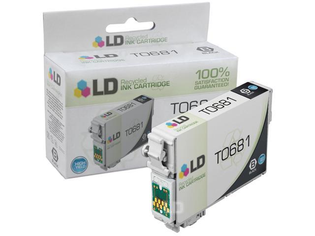 LD © Remanufactured High Yield Black Ink for Epson 68 (T068120)