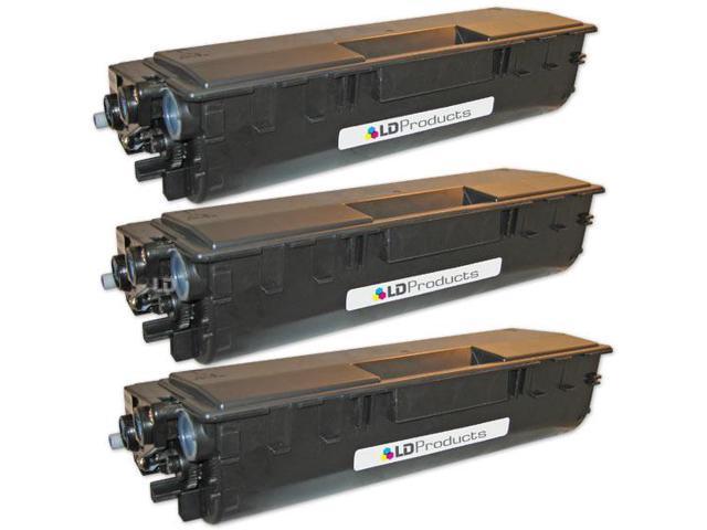 LD © Compatible Brother TN460 Set of 3 Black Laser Toner Cartridges