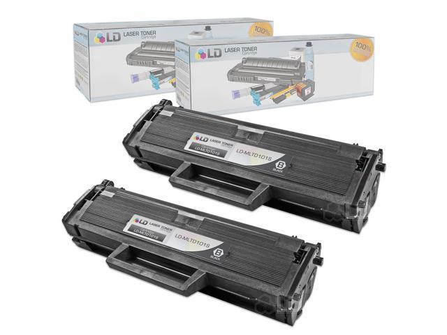LD © Compatible Samsung MLT-D101S Set of 2 Black Laser Toner Cartridges