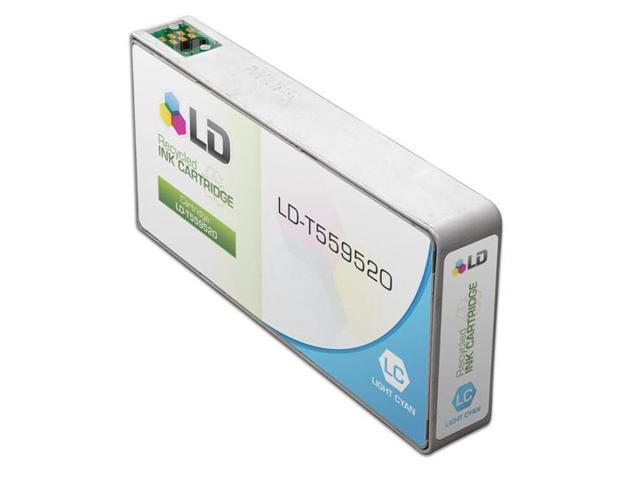 LD © Remanufactured Replacement for Epson T559520 (T5595) Light Cyan Ink Cartridge