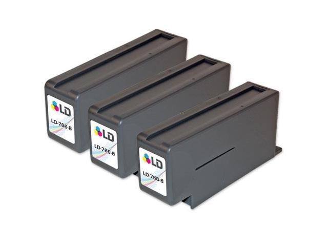 LD © 3 PB Compatible 766-8 Red Ink Cartridges