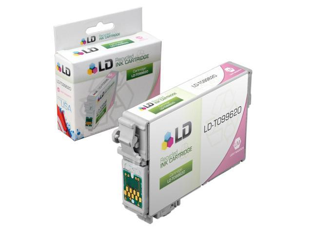 LD © Remanufactured Replacement for Epson T0996 Light Magenta Ink Cartridge Includes: 1 T099620 Light Magenta for use in Artisan 700, 710, 725, 730, 800, 810, 835, and 837 Printers