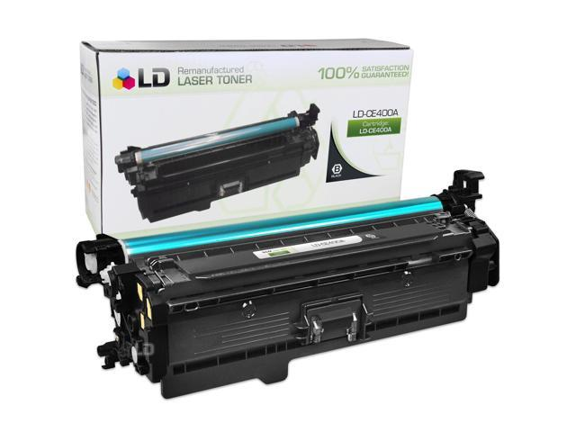 LD Remanufactured Replacement for HP CE400A / 507A Black Laser Toner Cartridge for the LaserJet M551dn, 500 Color M551n, M551xh, MFP M575dn, MFP M575f, MFP M575c, MFP M570dn