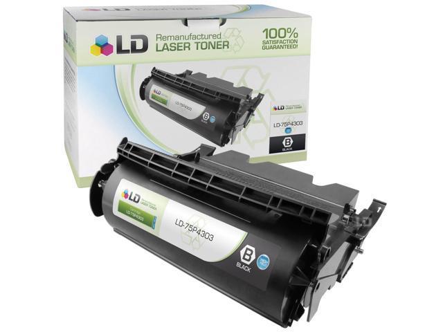 LD © Remanufactured IBM Extra High Yield Black 75P4305 Laser Toner Cartridge. (InfoPrint 1352 / 1372)