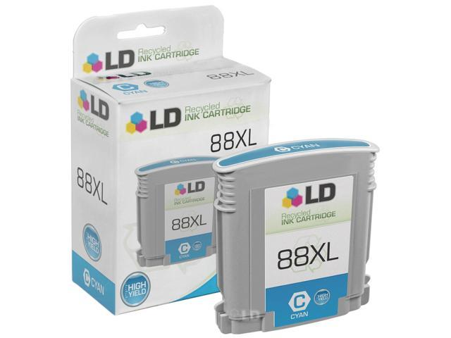 LD © Remanufactured Replacement for Hewlett Packard C9391AN 80XL / 80 High Yield Cyan Inkjet Cartridge for use in HP OfficeJet Pro Printers
