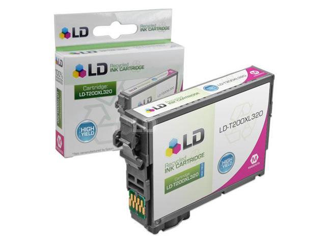 LD Remanufactured Epson T200XL320 / T200XL / T200  High Yield Magenta Inkjet Cartridge for use in Expression XP-200, XP-300, ...