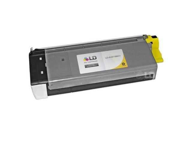 LD © Compatible Okidata 44318601 Yellow Laser Toner Cartridge for OKI C711dn, C711dtn, C711n, & C711wt Printers