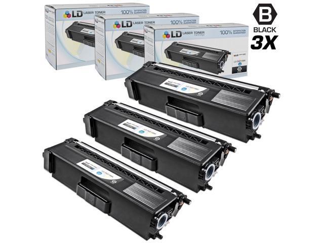 LD © Compatible Brother Black TN315 Set of 3 Toner Cartridges for use in HL-4150cdn, HL4570cdw, HL-4570cdwt, MFC-9460cdn, MFC-9560cdw & MFC-9970cdw Printers