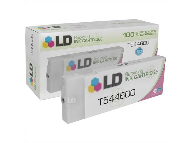 LD © Remanufactured Replacement for Epson T544600 High Yield Light Magenta Pigment Ink Cartridge for use in Epson Stylus Pro 4000, 4000 Professional Edition, 7600 Pigment, & 9600