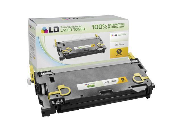 LD © Remanufactured Replacement Laser Toner Cartridge for Hewlett Packard Q7562A (HP 314A) Yellow