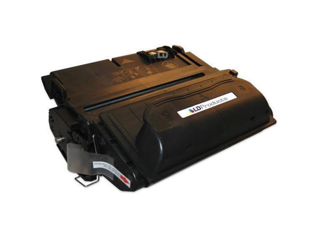 LD © Remanufactured Replacement Laser Toner Cartridge for Hewlett Packard Q1338A (HP 38A) Black