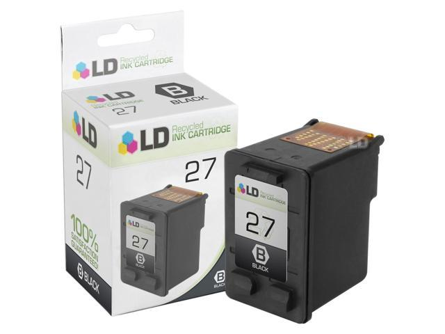 LD © Remanufactured Replacement Ink Cartridge for Hewlett Packard C8727AN (HP 27) Black
