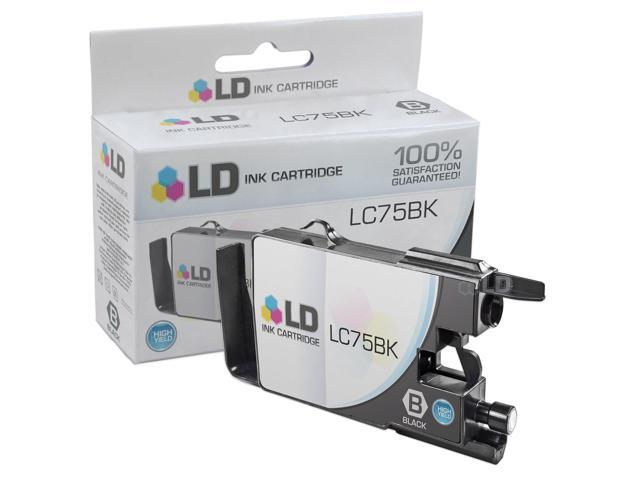 LD © Brother Compatible LC75BK High Yield Black Ink Cartridge (LC75 Series) for use in the Brother MFC-J6510DW, MFC-J6710DW, MFC-J6910DW and MFC-J835DW Printers