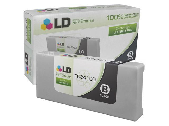 LD �� Remanufactured Replacement for Epson T624100 Black Inkjet Cartridge for use in Epson Stylus Pro GS6000