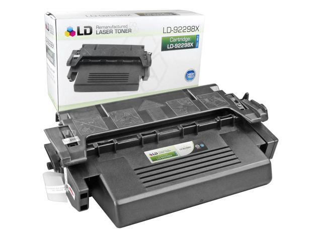LD © Remanufactured Replacement Laser Toner Cartridge for Hewlett Packard 92298X (HP 98X) High-Yield Black