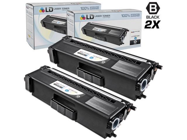 LD �� Compatible Brother TN315Bk (TN310Bk) Set of 2 High Yield Black Toner Cartridges for HL-4150cdn, HL-4570cdw, HL-4570cdwt, MFC-9460cdn, MFC-9560cdw and MFC-9970cdw