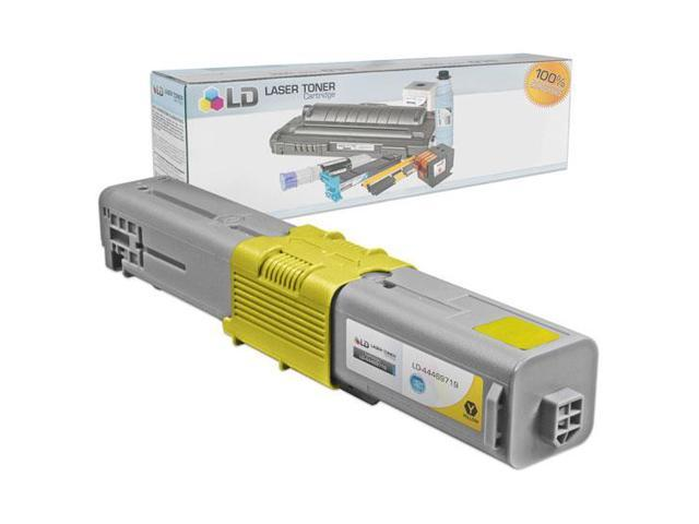 LD © Okidata Compatible 44469719 (Type C17) High Yield Yellow Laser Toner Cartridge
