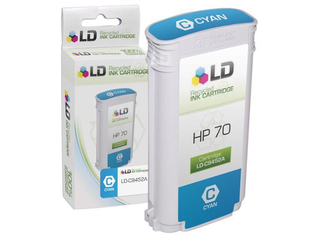 LD © Remanufactured Replacement Ink Cartridge for Hewlett Packard C9452A (HP 70) Cyan