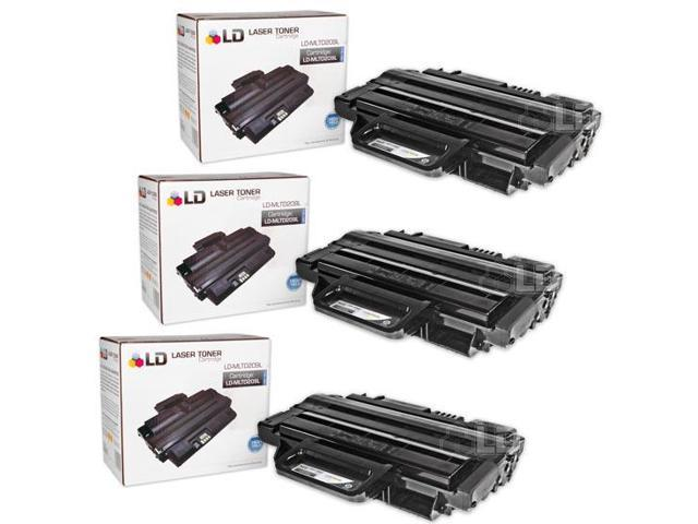 LD © 3 Compatible Laser Toners for the Samsung MLT-D209L for ML-2855ND, SCX-4824FN, SCX-4826FN and SCX-4828FN  Printers