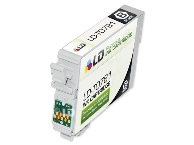 LD © Epson T078120 (T0781) Black Remanufactured Ink Cartridge