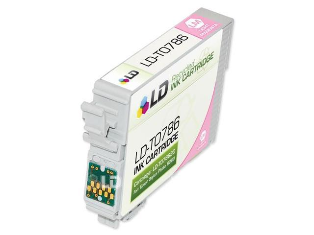 LD © Remanufactured Replacement for Epson T078 12-Set Ink Cartridges: 2 Black & 2 each of Cyan / Magenta / Yellow / Light Cyan / Light Magenta