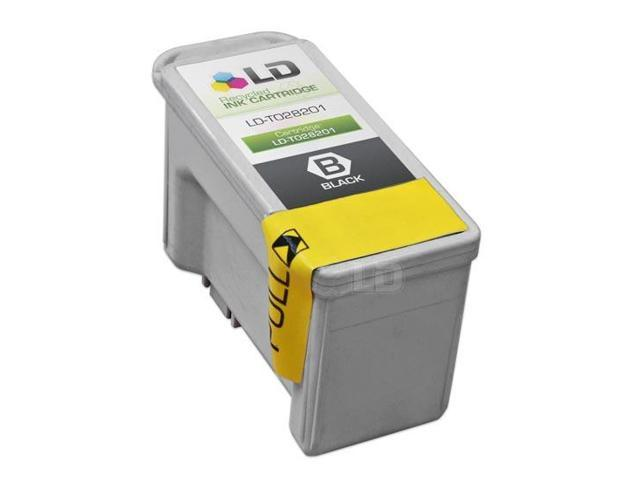 LD © Epson T028201 (T028) Black Remanufactured Ink Cartridge for Stylus C60