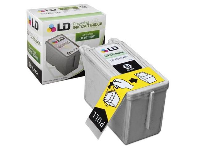 LD © Remanufactured Replacement for Epson T019201 (T019) Black Ink Cartridge