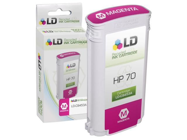 LD © Remanufactured Replacement Ink Cartridge for Hewlett Packard C9453A (HP 70) Magenta