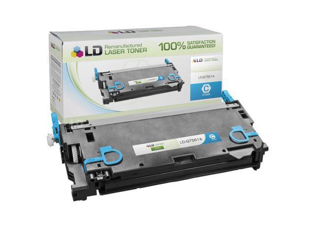 LD © Remanufactured Replacement Laser Toner Cartridge for Hewlett Packard Q7561A (HP 314A) Cyan