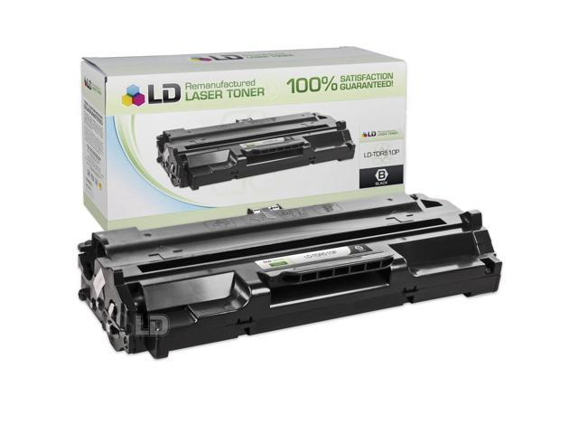 LD© Compatible Replacement for Samsung TDR-510P Black Laser Toner Cartridge for use in Samsung MSYS 5100P, 5100P, SF 530, SP 531p, SF 535e, SF-5100, SF-5100PI, and SF-515 Printers