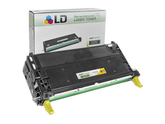 LD © Refurbished Toner to replace Dell 3110cn / 3115cn XG724 High Yield Yellow Toner Cartridge