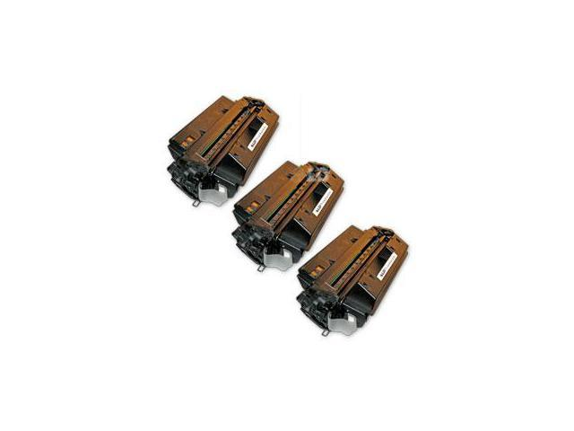 LD © Remanufactured Replacement Laser Toner Cartridges for Hewlett Packard Q2610A (HP 10A) Black (3 Pack)