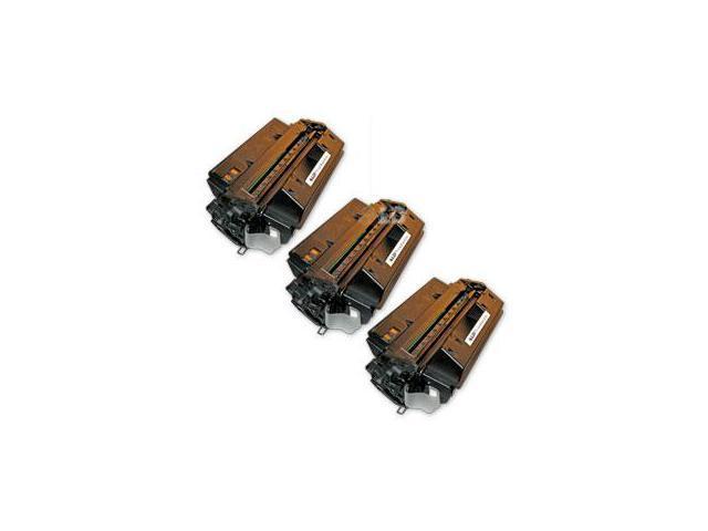 LD © Remanufactured Replacement Laser Toner Cartridges for Hewlett Packard Q2610A (HP 10A) Black (3 Pack)