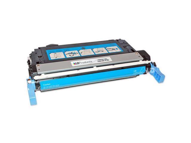 LD © Remanufactured Replacement Laser Toner Cartridge for Hewlett Packard Q6461A (HP 644A) Cyan