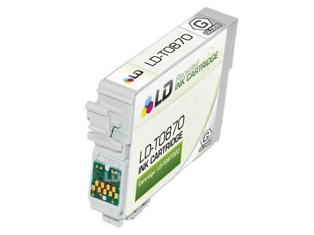 LD © Epson T087020 (T0870) Gloss Optimizer Remanufactured Ink Cartridge for Stylus Photo R1900