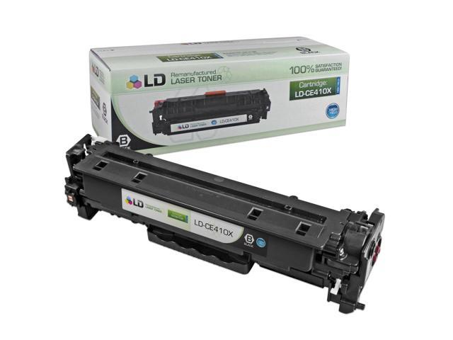 LD © Remanufactured Replacement Laser Toner Cartridge for Hewlett Packard CE410X (HP 305X) High-Yield Black