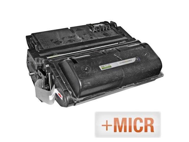 LD © (MICR Toner) Remanufactured Replacement Laser Toner Cartridge for Hewlett Packard Q5942A (HP 42A) Black