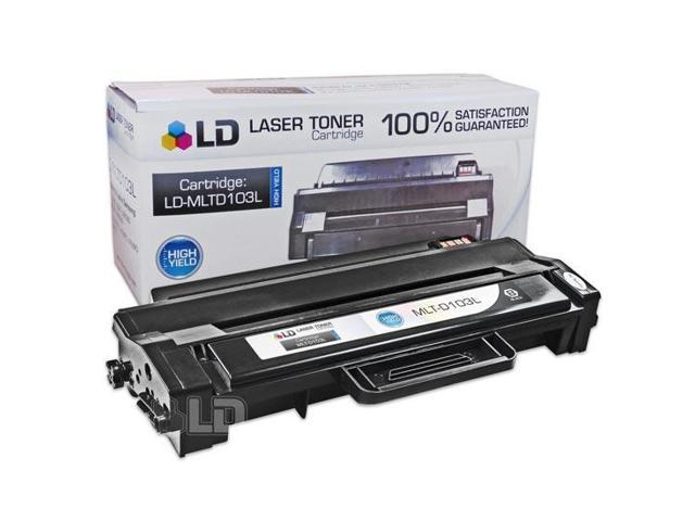 LD © Compatible Replacement for Samsung MLT-D103L Black High Yield Laser Toner Cartridge for use in Samsung ML-2950ND, ML-2955DW, ML-2955ND, SCX-4729FD, and SCX-4729FW Printers