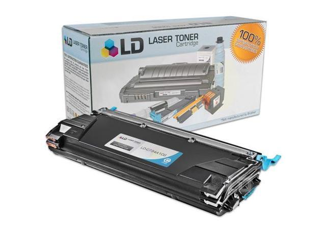 LD © Compatible Cyan Laser Toner Cartridge for Lexmark C734A1CG