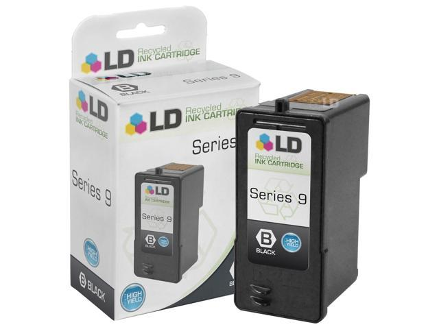 LD © Remanufactured Replacement for Dell MW175 (MK992 Series 9) Black Inkjet Cartridge for use in Dell Photo- all-in-one V305, V305w, and 926 Printers