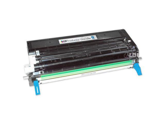 LD © Compatible X560H2CG High Yield Cyan Laser Toner Cartridge for Lexmark X560