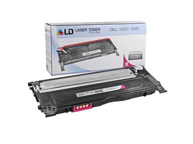 LD © Compatible Replacement for Dell 330-3014 Magenta Laser Toner Cartridge for use in Dell Color Laser 1230c, 1235c, and 1235cn Printers
