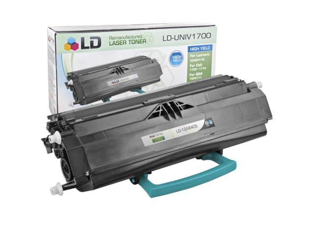 LD © Compatible High Yield Black Laser Toner Cartridge for Lexmark 12A8405 (E330, E332 Series Printers)
