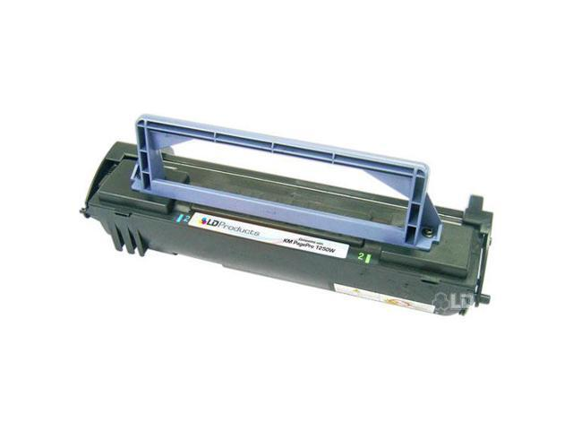 LD © Remanufactured Replacement for Konica-Minolta 1710405-002 Black Laser Toner Cartridge for PagePro 8, 8E, 8L, 1100, 1100L, 1200, 1250e, 1250w, Pageworks 8E, & 8L Printers