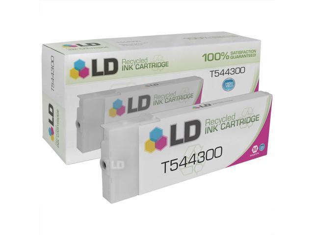 LD © Remanufactured Replacement for Epson T544300 High Yield Magenta Pigment Ink Cartridge for use in Epson Stylus Pro 4000, 4000 Professional Edition, 7600 Pigment, & 9600