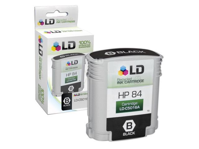 LD © Remanufactured Replacement Ink Cartridge for Hewlett Packard C5016A (HP 84) Black