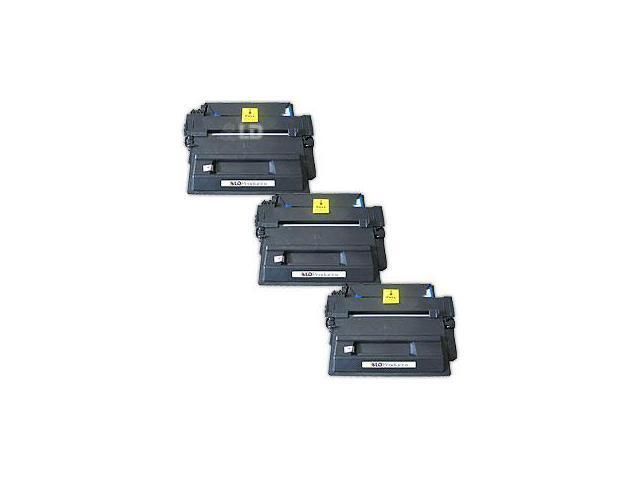 LD Remanufactured Replacement Laser Toner Cartridges for HP Q7551X (51X) HY Black (3 Pack) for use in the LaserJet M3035 MFP, P3005d, P3005n, M3027x MFP, M3035xs MFP, P3005, P3005dn, M3027 MFP, P3005x