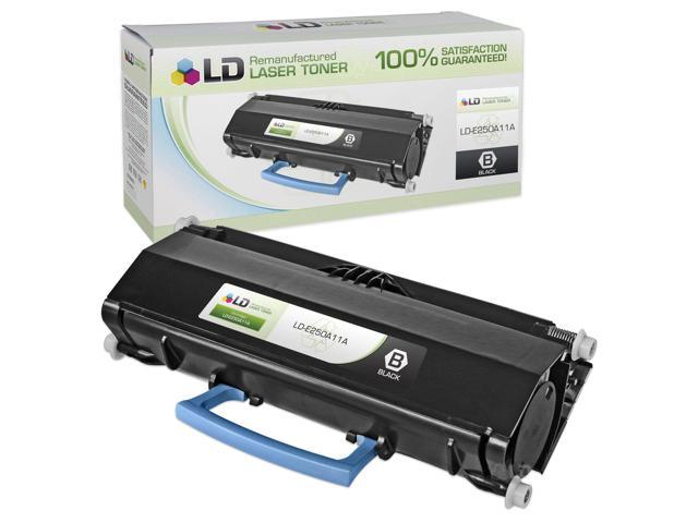 LD © Remanufactured Replacement for Lexmark E250A11A Black Laser Toner Cartridge for use in Lexmark E250, E250d, E250dn, E350, E350d, E350dn, E352, and E352dn Printers