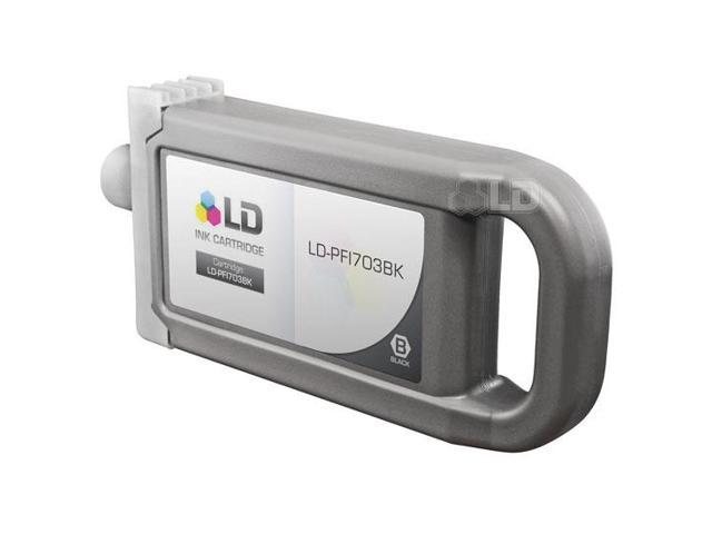 LD © Compatible Canon PFI-703BK Dye Black Ink Cartridge
